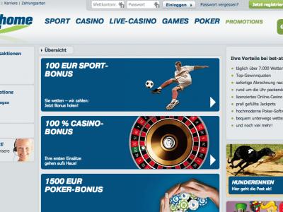 Bet at Home: Neues Feature für Cash Out – vorzeitiger Verkauf von Pre-Match-Wetten