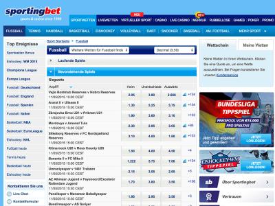 PayPal mit Livewetten bei Sportingbet