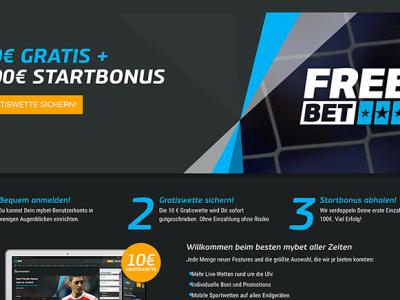 Bonus von 100 Euro zu ATP World Tour bei Mybet