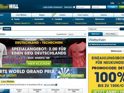 Top-Quote auf Bayern-Sieg bei William Hill